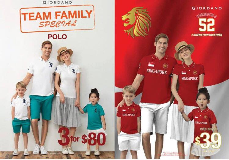 Giordano Singapore Suffers Backlash for Featuring Caucasians in National Day Ad - World Of Buzz 1