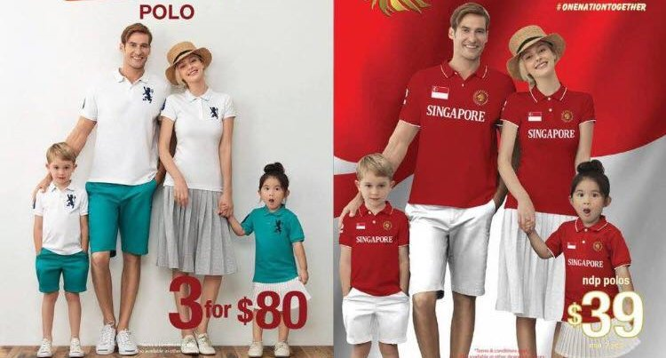 Giordano Singapore Suffers Backlash for Featuring Caucasians in National Day Ad - World Of Buzz 2