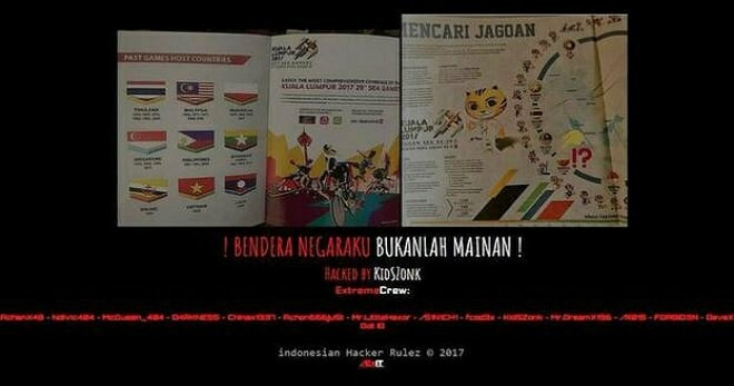 Indonesian Group Hacks Malaysian Websites in Light of Flag Controversy - World Of Buzz 3