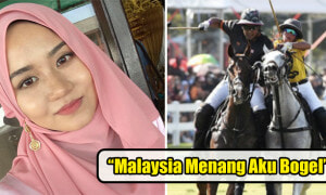 Lady Made Worst Choice to Vow to Strip Naked if M'sian Polo Team Wins - World Of Buzz