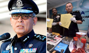 Loanshark Wrongly Splashes Red Paint at High-Ranking Cop's House, 4 Syndicates Busted - World Of Buzz 1