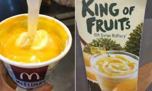 Malaysians Can Get D24 Durian McFlurry at McD Starting From August 24! - World Of Buzz