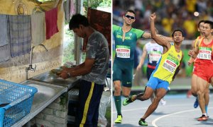 Man Used to Earn RM15/Day Washing Dishes, Now He's Malaysia's Champion Runner - World Of Buzz