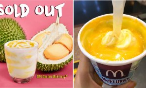 McDonald's Officially Sold Out ALL D24 Durian McFlurry, Will Only Restock in 2018 - World Of Buzz 1