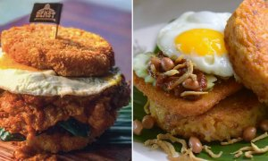 More Nasi Lemak Burgers Pop Up in Singapore, This Time with Real Nasi Buns! - World Of Buzz 7