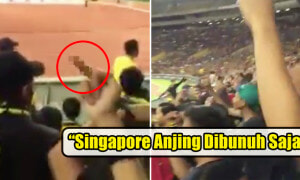 M'sian Supporters Criticised for Chanting 'Singapore Anjing' After WINNING the Football Match - World Of Buzz