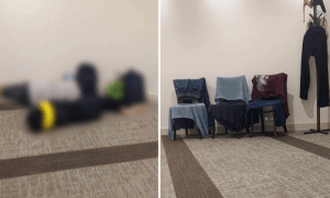 M'sian Tourists Inconsiderately Sleeps and Dries Wet Clothes in Japan Prayer Room - World Of Buzz 5