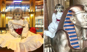 Netizens Freak Out After Seeing Annabelle Hanging Around in Sunway Pyramid - World Of Buzz