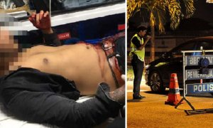 Police Catches Malaysians Who Were About to Commit Murder During Roadblock - World Of Buzz