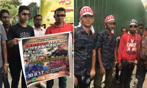 Shocking Video Shows Over 1,000 Rohingyas Protesting in Ampang Park, KL - World Of Buzz 6