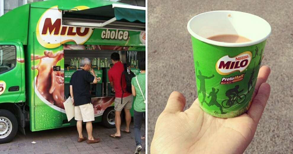 There Will Be 35 Milo Vans Giving Out FREE Drinks Nationwide on Merdeka Day! - World Of Buzz