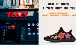 This Fake YEEZY Shop in China Lets You Customise Your Own Shoes! - World Of Buzz