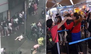 Typhoon Hato Causes Flight Disruption But Tourists in KLIA Hold Protests to Go Home - World Of Buzz 5