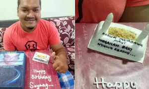 Wife Makes Hilarious Birthday Cake for Her Smoker Husband - World Of Buzz 4
