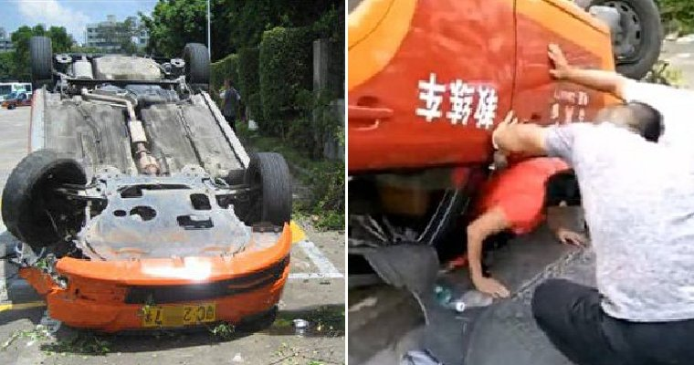Woman Fails Driving Test 7 Times, Overturns Car On the 8th Time - World Of Buzz 3