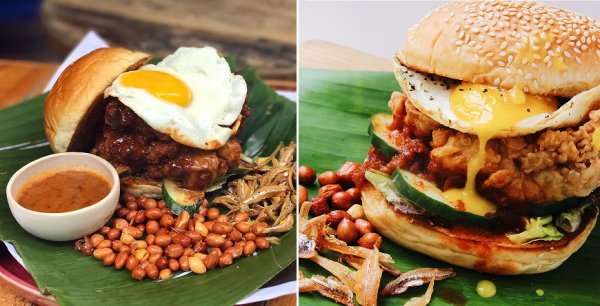 4 Restaurants You Can Get To Try The Highly Raved Nasi Lemak Burger - World Of Buzz 2