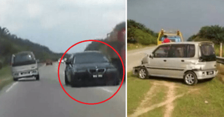 Malaysians are Furious at Reckless BMW Driver Who Caused Car to Crash - World Of Buzz