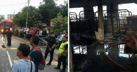 Datuk Keramat School Did Not Have a Fire Exit, Trapping and Killing Teachers and Students - WORLD OF BUZZ