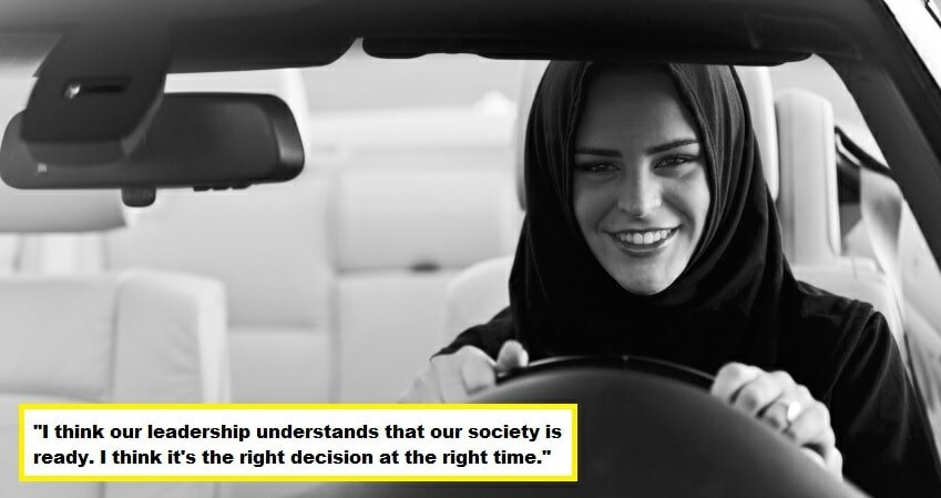 Finally! Saudi King Announces Women are Allowed to Drive - WORLD OF BUZZ 1