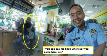 Its Ok Ill Pay First Kind Malaysian Woman Tells Man Who Needed Help World Of Buzz