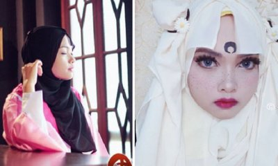 Malaysian Cosplayer Wows Netizens by Getting Creative with Her Headscarves - WORLD OF BUZZ 8