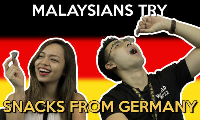 Malaysians Try Snacks from Germany - World Of Buzz