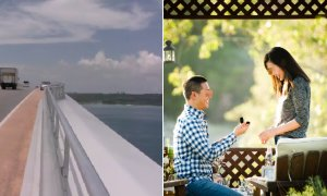 Man Tragically Slips and Falls Off Bridge After GF Accepts Marriage Proposal - World Of Buzz 4