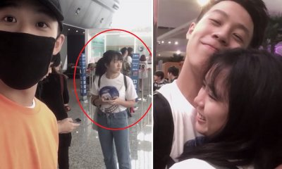 M'sian Guy Moves GF to Tears by Flying to Taiwan Just to Send Her Off - WORLD OF BUZZ 7
