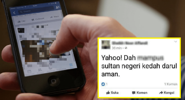 M'sian Netizen Sentenced To 7 Days And Rm5,000 Fine For Insulting Late Kedah Sultan Online - World Of Buzz 2