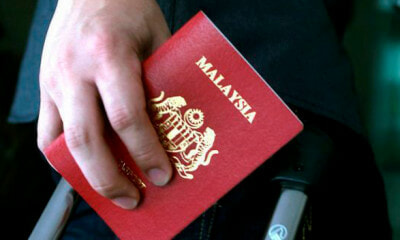 M'sian Passport Is Highly Desirable in Black Market, Over 50,000 Passports Already Missing - WORLD OF BUZZ