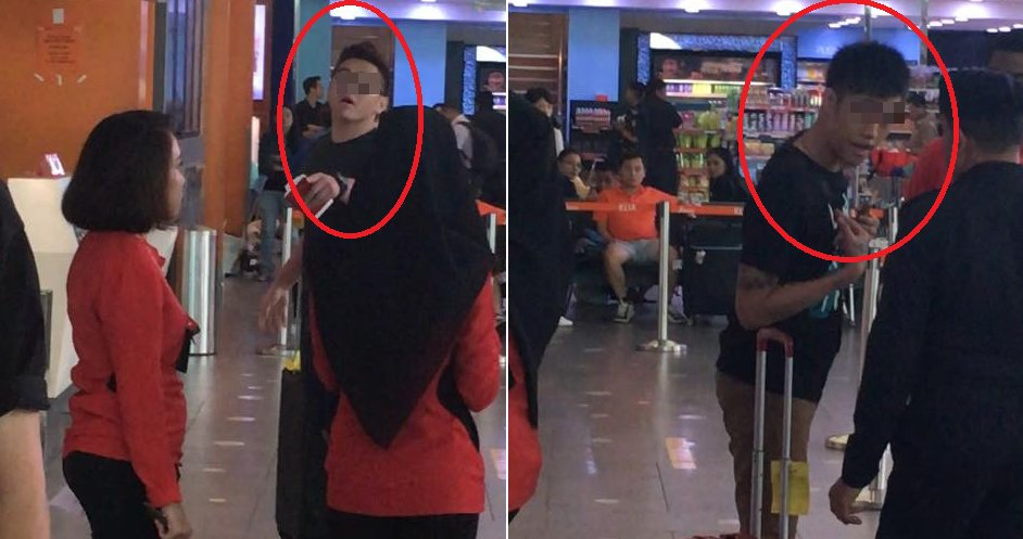 Netizen Shares How 2 Men Were Stopped by KLIA2 Staff for Rudely Cutting Queue - World Of Buzz 2