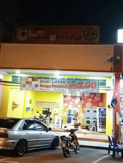 Netizens Don't Know What to Think of Muslim Only Self-Service Laundry in Muar - WORLD OF BUZZ