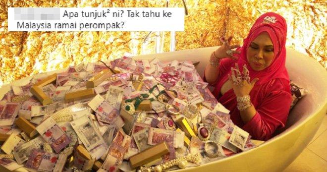 Photo of Datuk Seri Vida in Bathtub Full Of Cash Draws Criticism from Malaysians - WORLD OF BUZZ