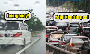 These 18 Moments Perfectly Sum Up the Long Weekend Traffic Jam in Malaysia - World Of Buzz 2