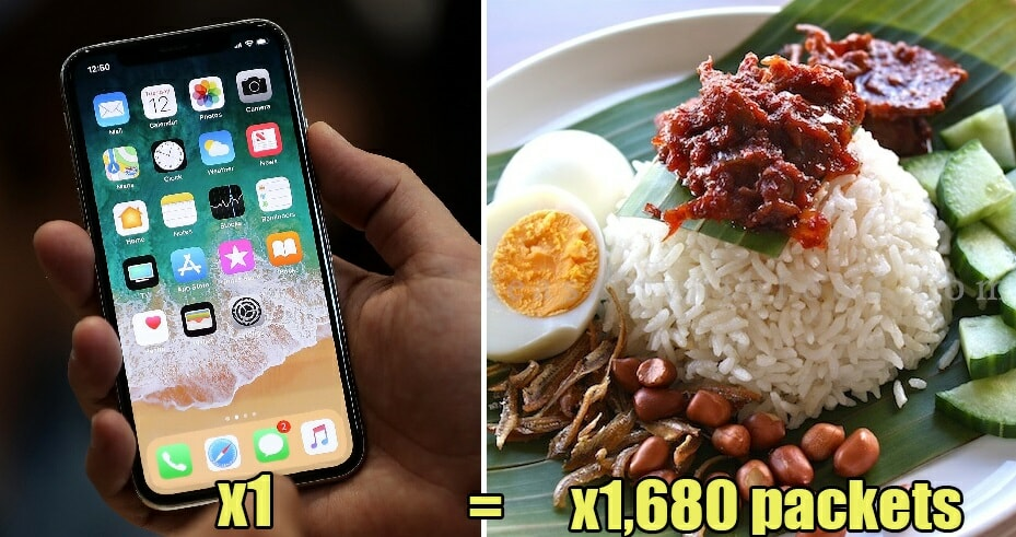 Things Malaysians Could Do With Our Money Instead of Buying the New iPhone X - WORLD OF BUZZ 16