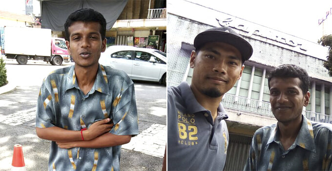 This Jobless Youth Walks 20km From Batu Caves to KL Everyday to Pursue His Dream - WORLD OF BUZZ