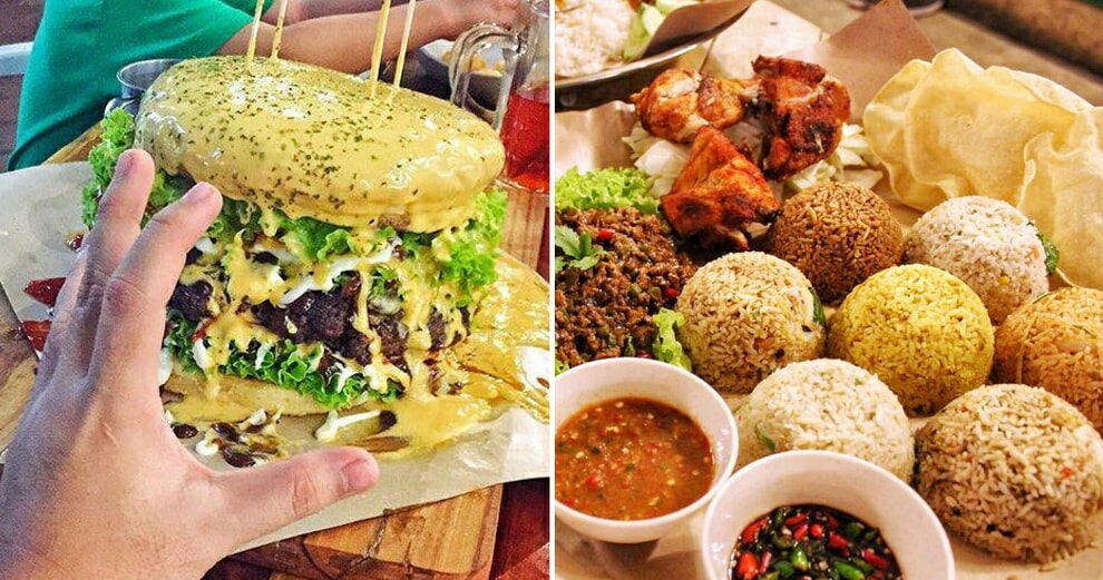 This Restaurant in Perak Serves Burgers and Fried Rice of EPIC Proportions! - WORLD OF BUZZ 7