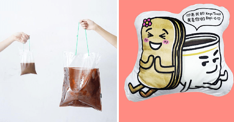 This Shop Made the Adorable 'Kopi Dabao Bag' Plus Many More Food-Themed Items! - WORLD OF BUZZ