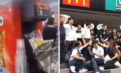 Thailand's 7-Eleven Stops Beer Machine Sales Due to Massive Protests - WORLD OF BUZZ 3