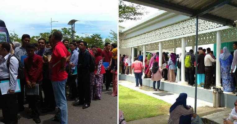 """Angry Jobseekers Slam """"Largest"""" Kedah Career Fair for Scamming Their Money - WORLD OF BUZZ 3"""
