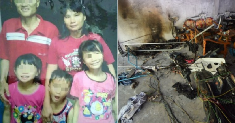 Brave M'sian Mother Dashes Through Fire to Save Children, Suffers 70% Burns - WORLD OF BUZZ 3