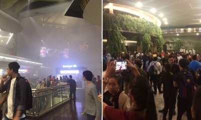 BREAKING: Fire Breaks Out in Mid Valley Megamall, Shoppers Forced to Evacuate - WORLD OF BUZZ 9