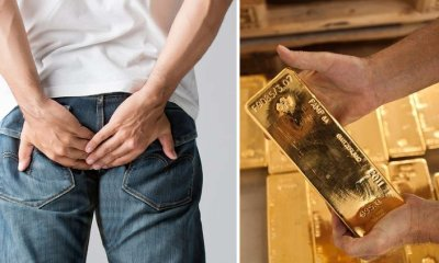 Chinese Airport Authorities Arrested Man with Butt-Load of Gold, LITERALLY! - WORLD OF BUZZ 3