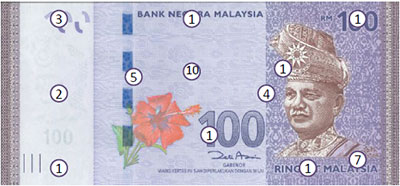 Counterfeit Money are Getting More 'Real', Here's How to Detect a Fake RM100 Note - WORLD OF BUZZ