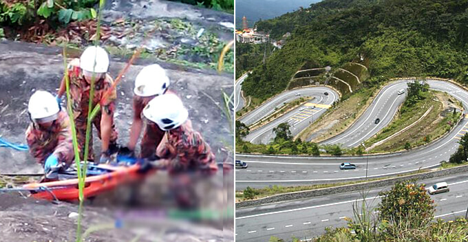 Dead Man Stuffed in Gunny Sack and Dumped Over Cliff En-Route to Genting Highlands - WORLD OF BUZZ