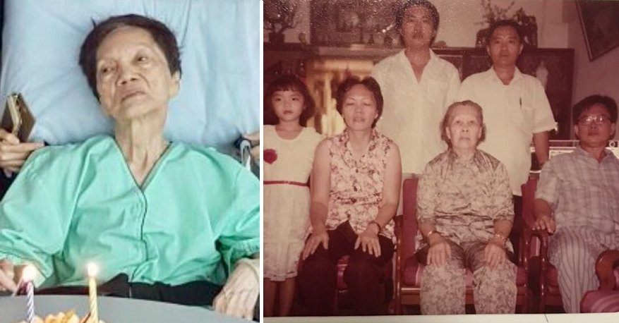 Dying Elderly Lady's Heartbreaking Final Wish is Just to See Her Long Lost Son - WORLD OF BUZZ 3