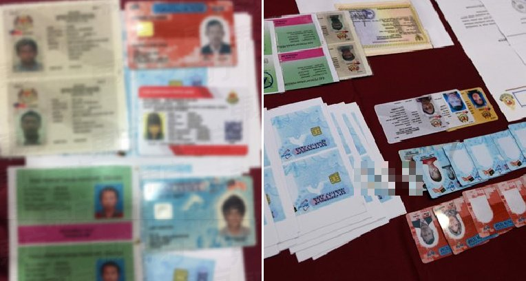 Foreigners Busted Selling All Sorts of Fake Official Documents As Cheap As RM400 - WORLD OF BUZZ 4
