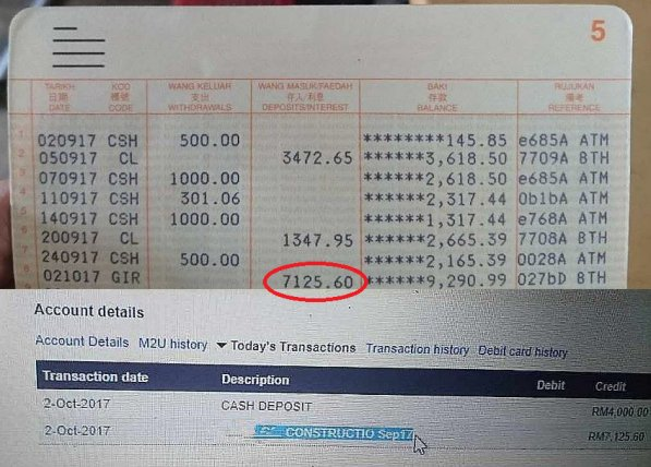 Honest M'sian Returns RM7,000 Accidentally Transferred in Bank Account, Earns Netizens Praise - WORLD OF BUZZ 2