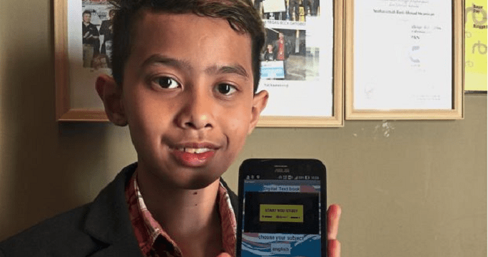 Malaysian Teen Bored of Studying Textbooks, Creates Mobile App Version - WORLD OF BUZZ