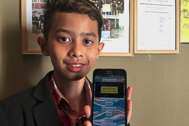 Malaysian Teen Creates Mobile App to Replace Textbooks - WORLD OF BUZZ